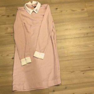 Victoria Beckham bunny dress - baby pink